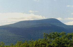 Slide Mountain (Ulster County, New York) - Slide Mountain from Ashokan High Point