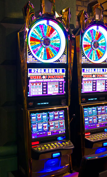 English: Slot machines (las vegas)