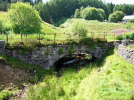 Small Bridge on Disused Railway at Kielder - geograph.org.uk - 204590.jpg