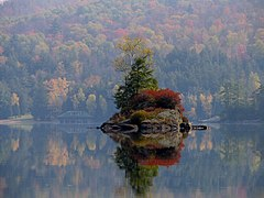 Small Island in Lower Saranac Lake.jpg