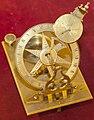 Small metal sundial, Collegium Maius Krakow.jpg