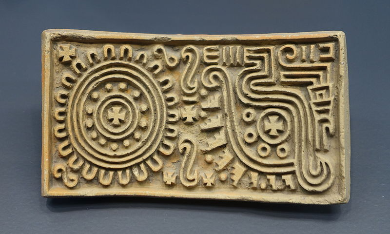 Plakietka aztecka