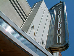 The Snowdon Theatre is an art deco landmark in the Snowdon neighbourhood.