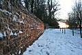 Snowy Wall - geograph.org.uk - 1633579.jpg