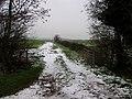 Snowy gateway - geograph.org.uk - 352434.jpg