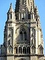 Soissons (02), abbaye Saint-Jean-des-Vignes, abbatiale, tour sud, étage de beffroi, vue depuis le sud.jpg