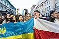 Solidarni z Białorusią 2014 Warszawa 01.jpg
