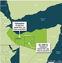 Somalia-Nhà nước Somalia-Somaliland oil explorations