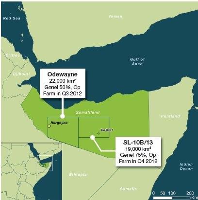 Somaliland oil explorations