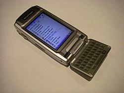 Image illustrative de l'article Sony Ericsson P910i