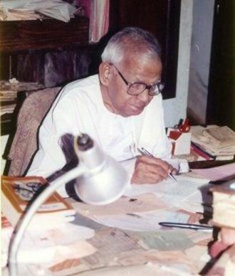 Ezhuthachan Puraskaram - Image: Sooranad Kunjan Pillai