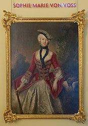Antoine Pesne: Countess Sophie Marie von Voß
