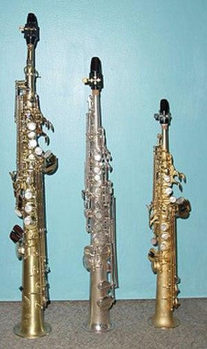 Soprano saxophone - Image: Sopranino Sax