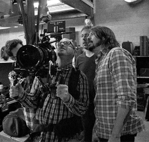 Sound City (film) - Dave Grohl while directing the movie.