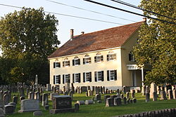 Southampton Baptist Church and Cemetery, built 1772