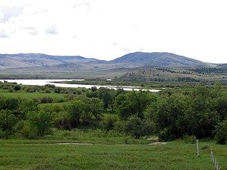 Buryatia - Landscape of southern Buryatia.
