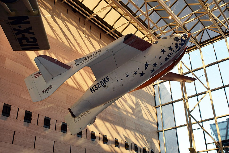 SpaceShipOne National Air and Space Museum photo D Ramey Logan