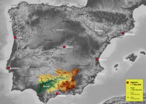 Marismas Del Guadalquivir Mapa.Guadalquivir Wikipedia