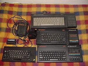 ZX Spectrum +, ZX Spectrum +2A, ZX Spectrum +3, pro porovnání vzhledu Amstrad CPC 6128