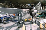 Spirit of St. Louis (replica), Ryan NYP - Evergreen Aviation & Space Museum - McMinnville, Oregon - DSC00509.jpg