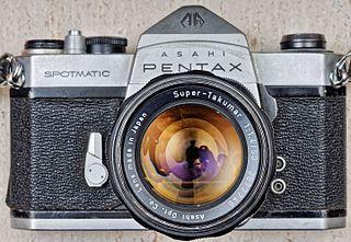 Foto oude Pentax camera