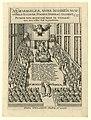 Spotprent op de synode van Dordrecht, 1619 Neoevangelicae, nuper invisibilis, nunc visibilis Ecclesiae Synodus, Dordraci celebrata Ao. 1618 et 1619 (titel op object), RP-P-OB-77.284.jpg