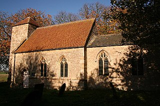 St Lawrences Church, Snarford Church in Lincolnshire, England