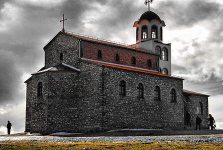 Church St. Preobraženie in Kruševo, Republic of Macedonia.