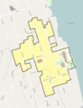 St. Helens Downtown HD boundary map.png