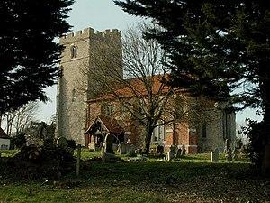 Peldon - Image: St. Mary the Virgin church, Peldon, Essex geograph.org.uk 136696