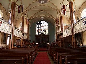 St James' Church, Poole - Image: St James Poole 2