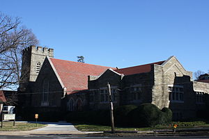 Melrose Park, Pennsylvania - Image: St John's Lutheran Church, Melrose Park PA 01
