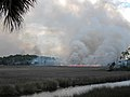 St Marks NWR Rx Fire in salt water marsh (7439799476).jpg