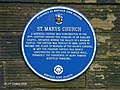 St Mary's Church plaque - geograph.org.uk - 271579.jpg