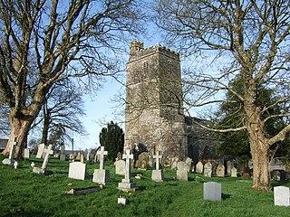 Bratton Clovelly village in the United Kingdom