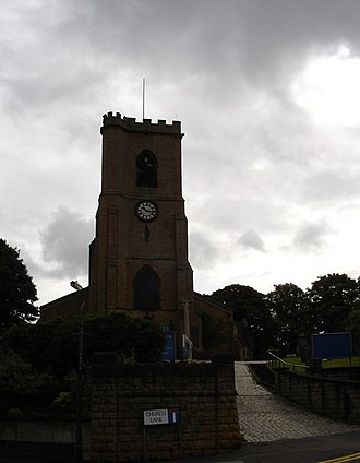 Church of St Mary the Virgin and All Souls, Bulwell - Image: St Mary The Virgin and All Souls, Bulwell