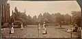 St Marylebone Infirmary, London; nurses playing tennis. Phot Wellcome V0029095.jpg