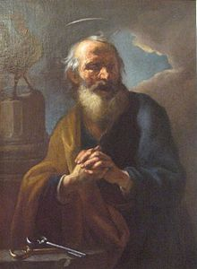 St Peter Brandl 1724 National Gallery Prague.jpg
