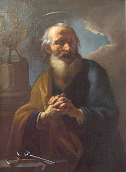 St Peter Brandl 1724 National Gallery Prague.jpg