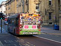 Stagecoach in Newcastle bus 22476 MAN Alexander ALX300 T476 BNL in Newcastle rear advert 3 April 2009.JPG