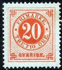 Postage stamps and postal history of Sweden - Wikipedia
