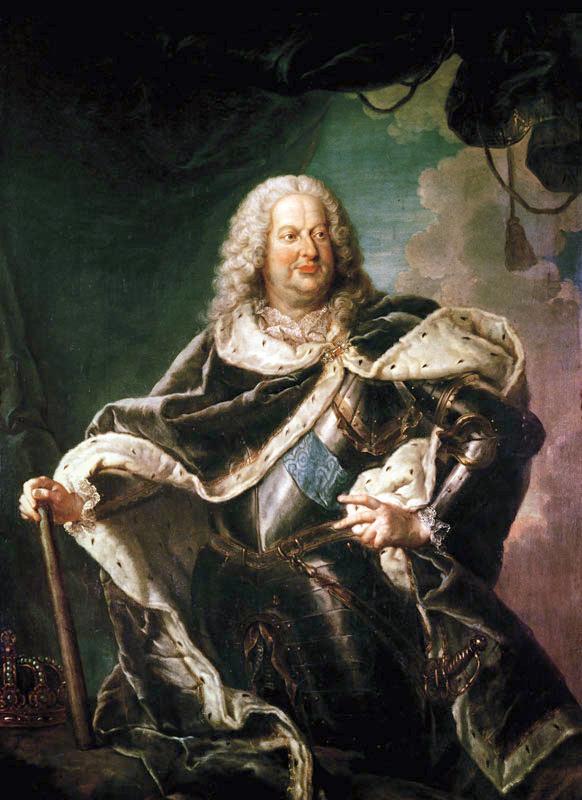 Stanisław Leszczyński par Girardet