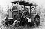 StateLibQld 2 165695 Melbourne manufactured tractor on a farm in the Rockhampton district, 1914.jpg