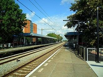 Capelle Schollevaar railway station - Image: Station Capelle Schollevaar 1