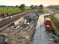 Station Hoevelaken aanbouw begin juni 2012.jpg