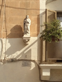 Statue of the Sacred Heart of Jesus, balcony.png