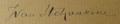 Stchoukine Signature.png