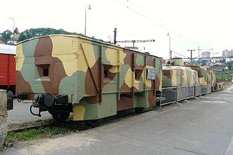 Armored train Štefánik - Restored armored train Štefánik