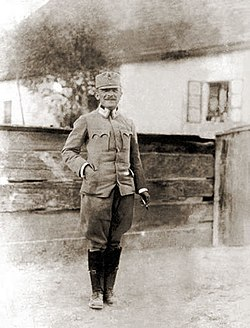 Степан Шухевич на Закарпатті, 1915