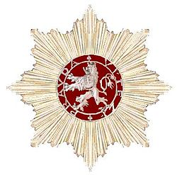 First Class Star of the Order of the White Lion